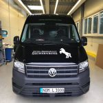 Die Motorhaube des Hotel Restaurant Sachsenross Transporter