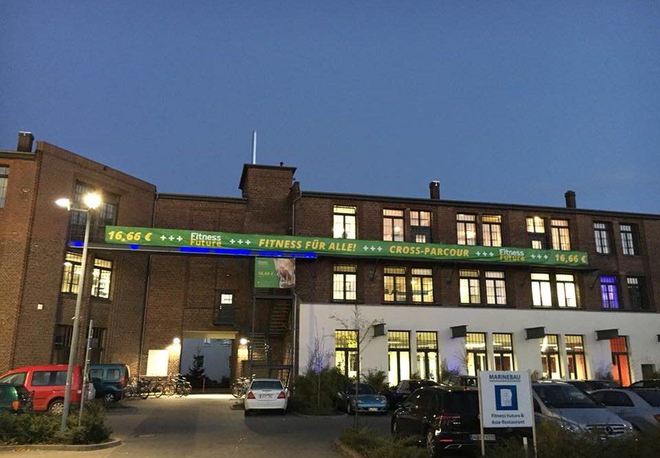 Das Banner wurde von der Werbeagentur in Göttingen designt