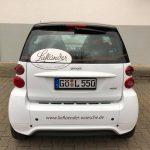 Liefländer Smart Kofferraum Fotografiert