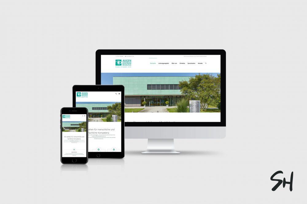 Webdesign für Azmi