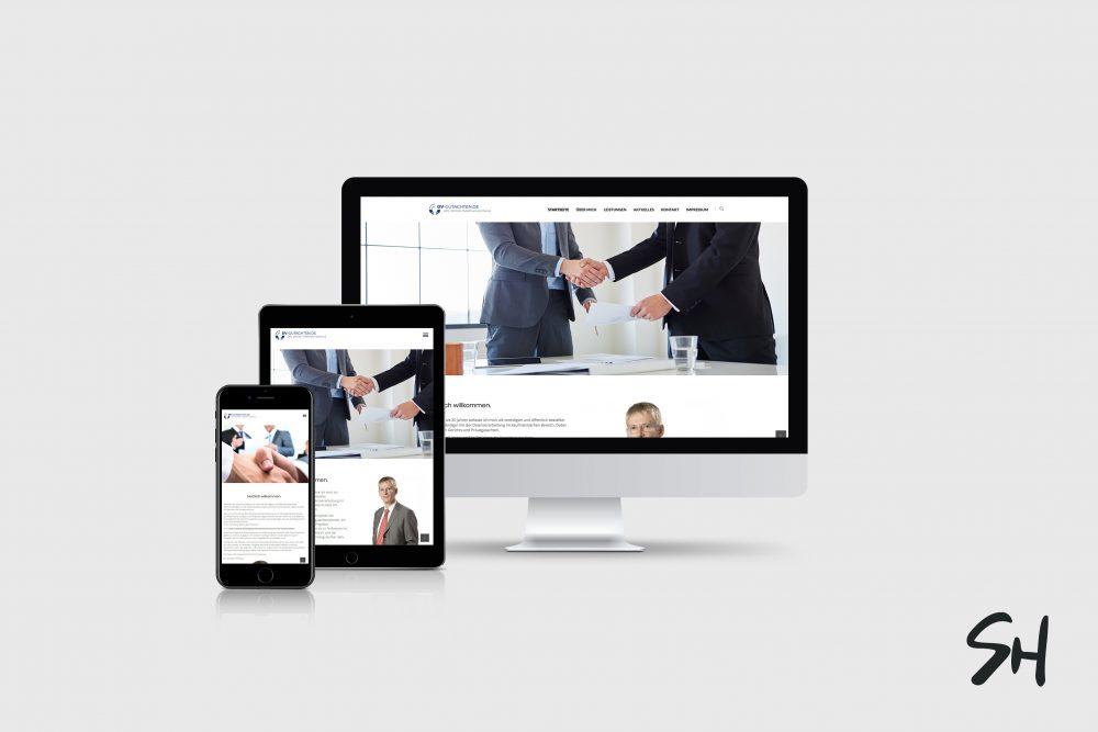 Webdesign für DV-Gutachten