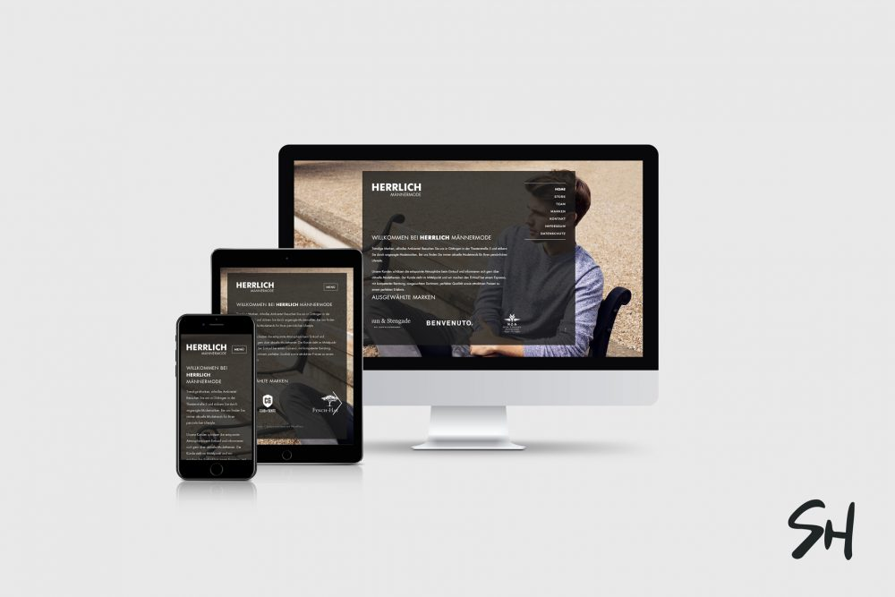 Webdesign für Herrlich