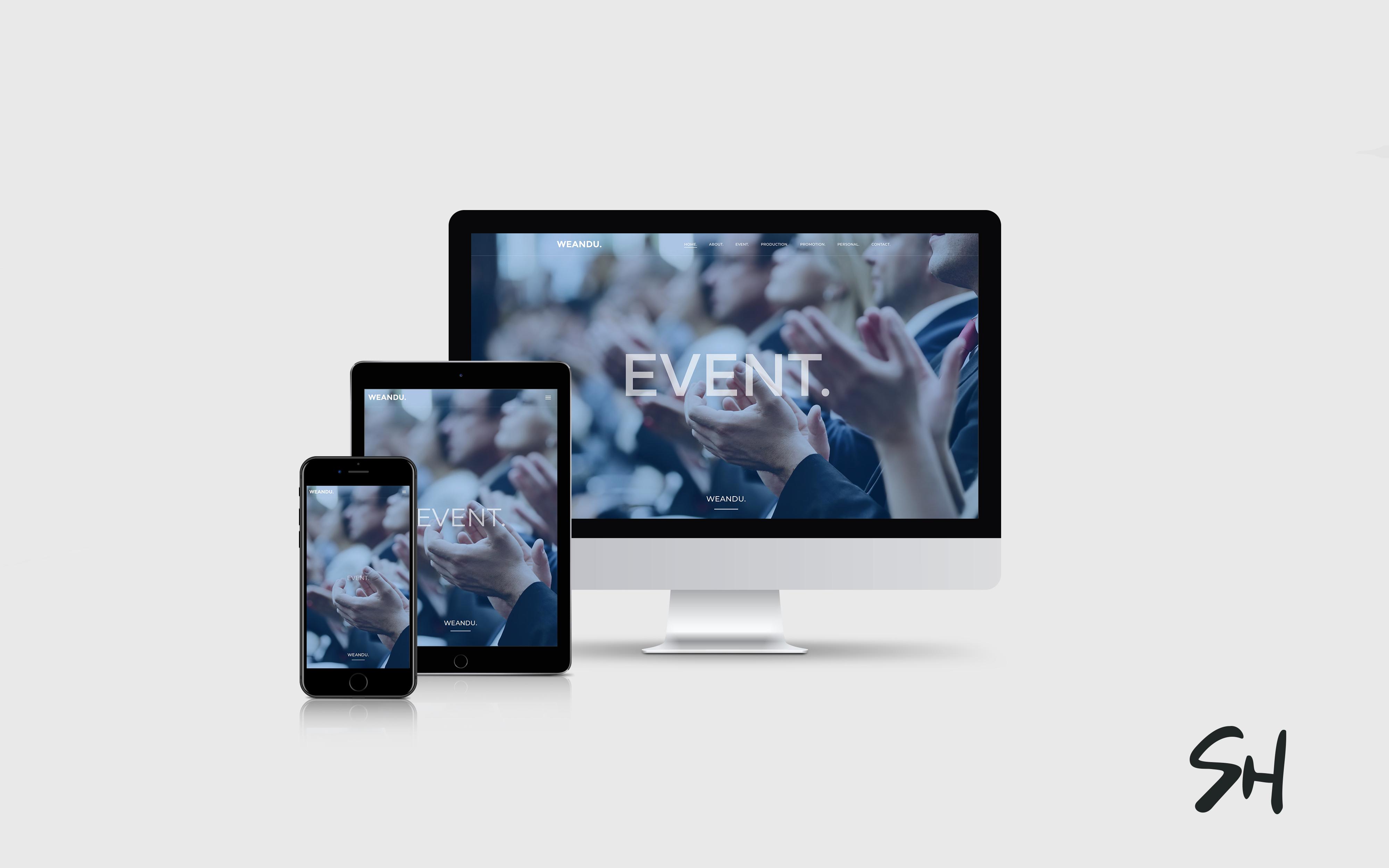 Webdesign für Weandu