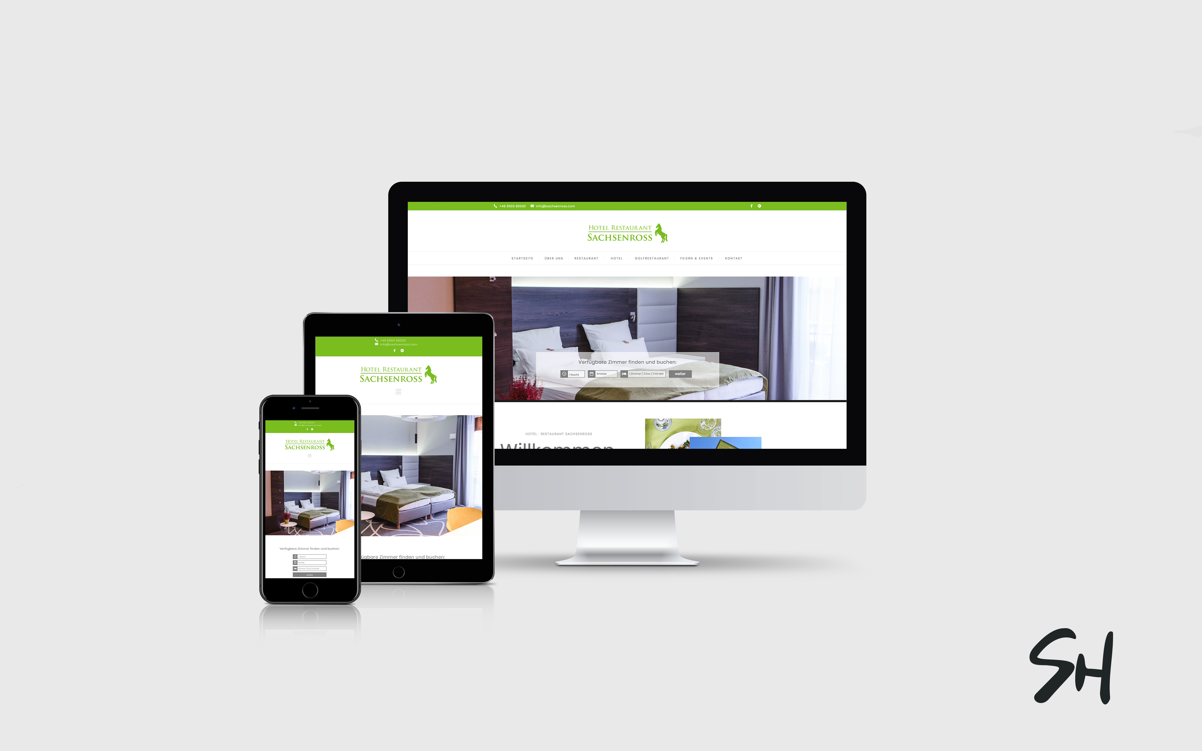 Webdesign für Sachsenross