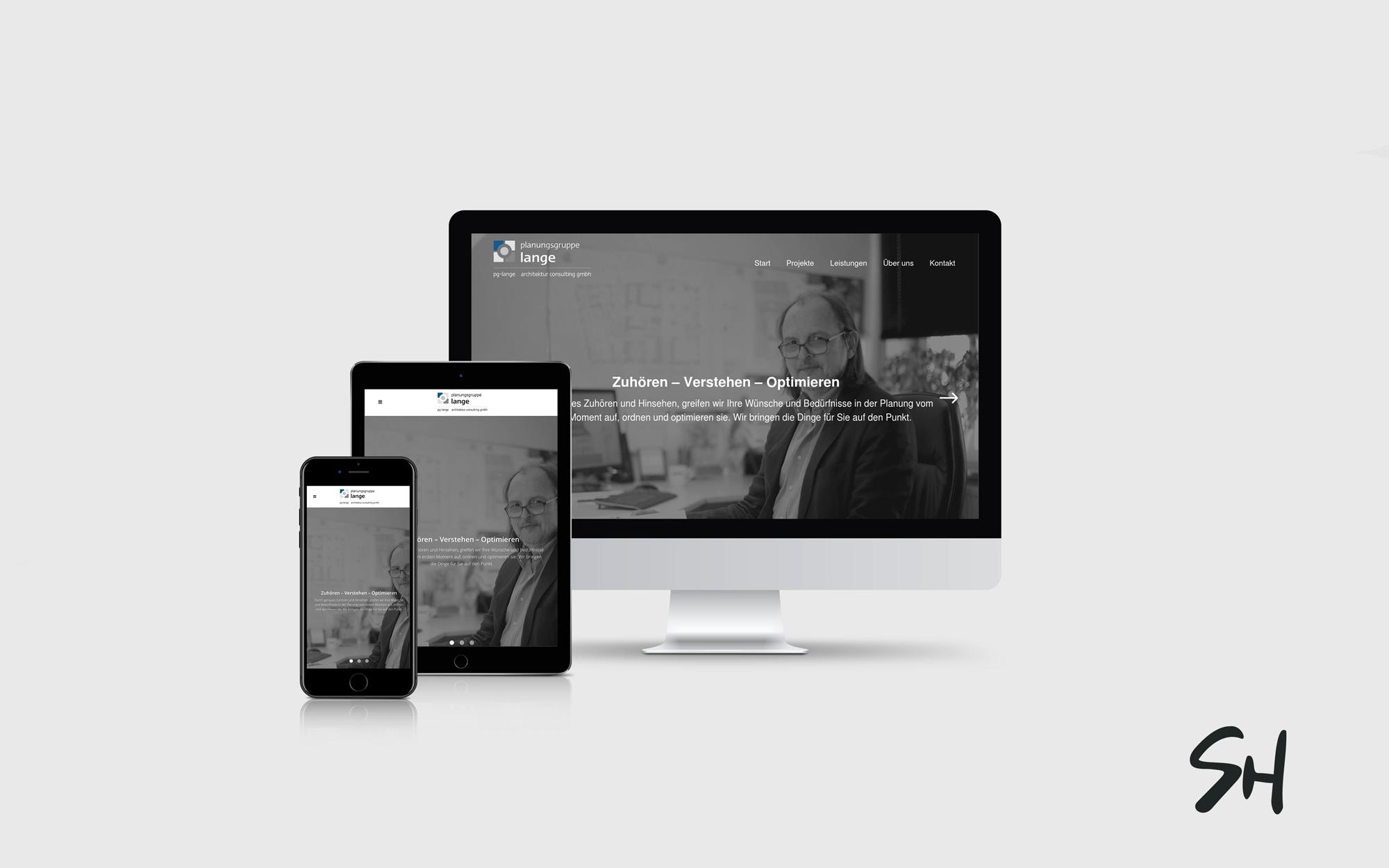 Lange Webdesign
